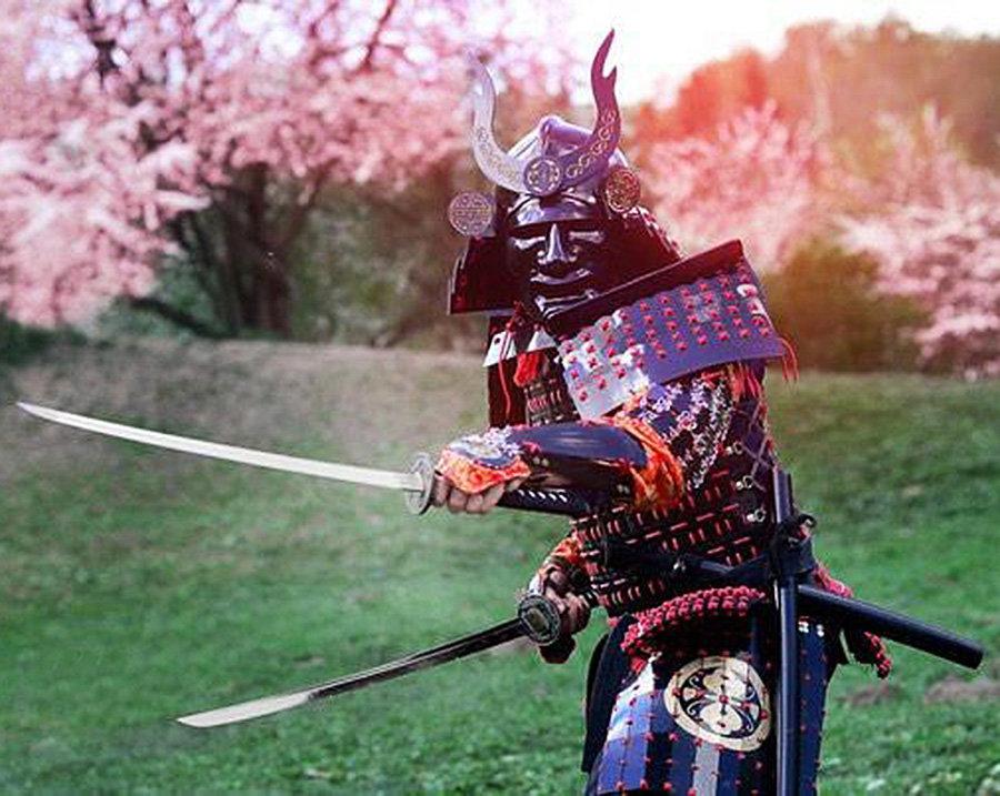 Картинка японского самурая