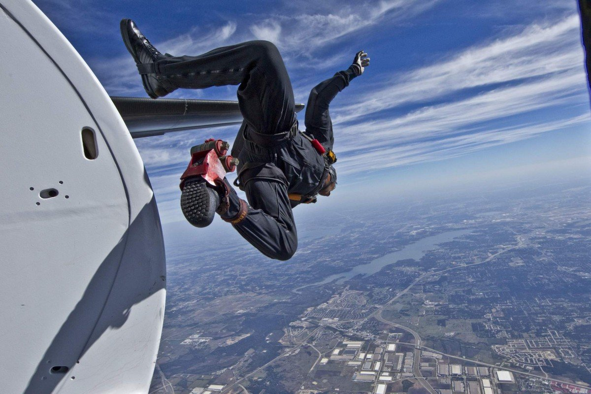 Прыжки без парашюта картинки