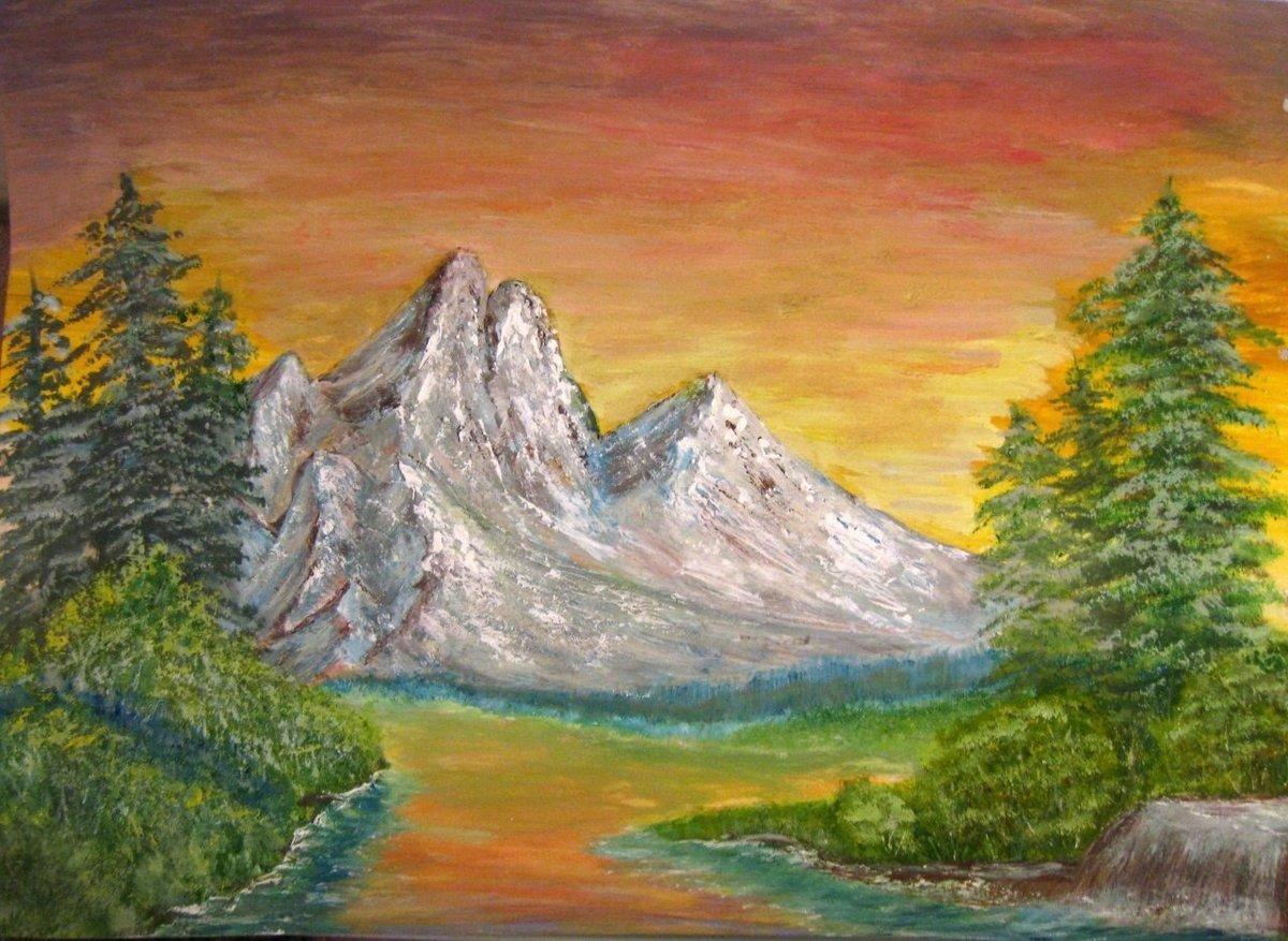 картинки пейзажа рисовать легко неоднократно рассказывали