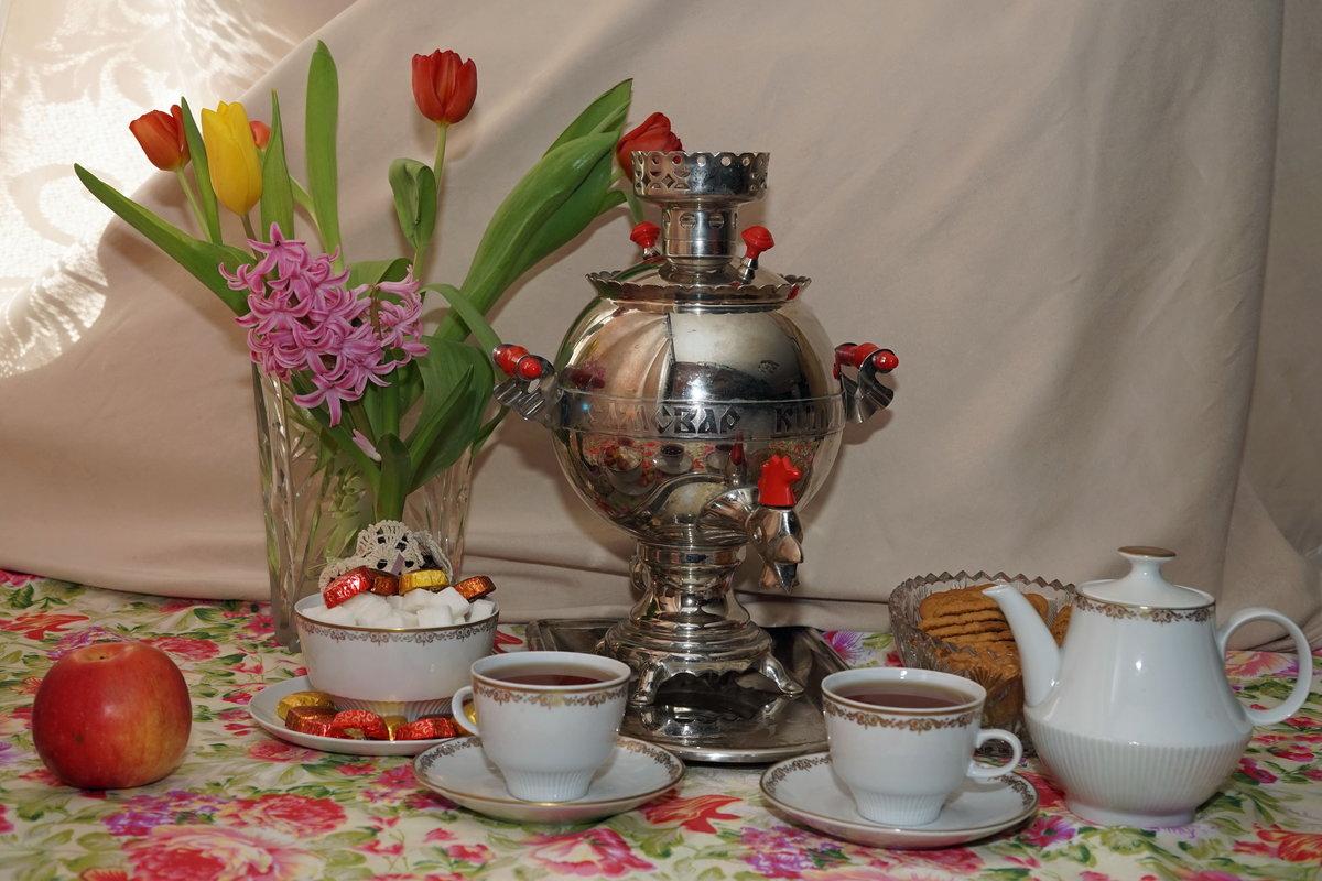 Картинка попей чаю