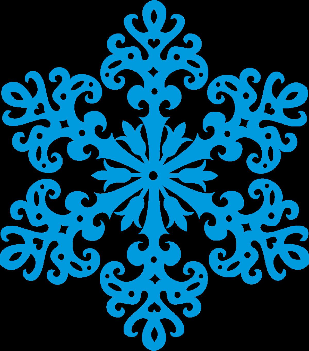 Снежинка рисунок без фона