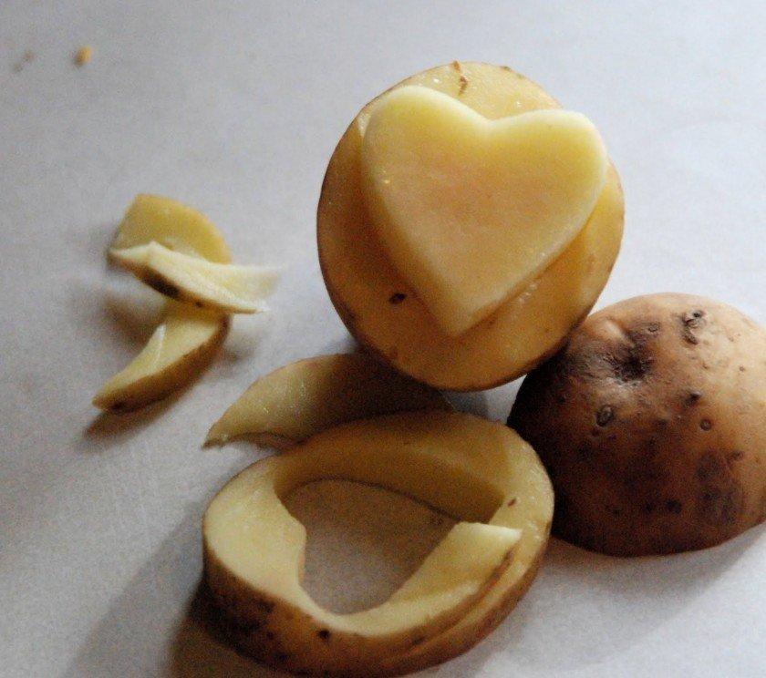 рисунки из картофеля такой костюм