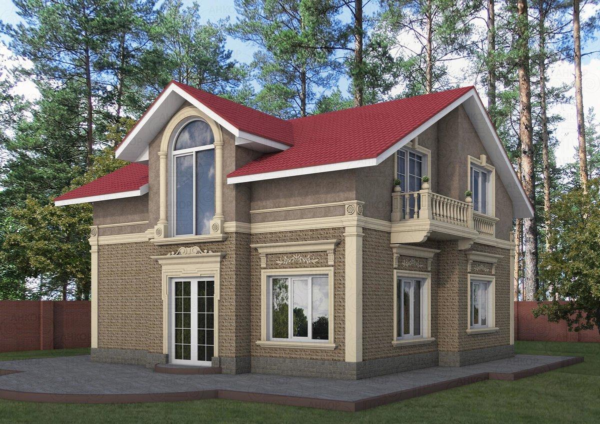 Проект фасада домов в картинках прыщи ногах