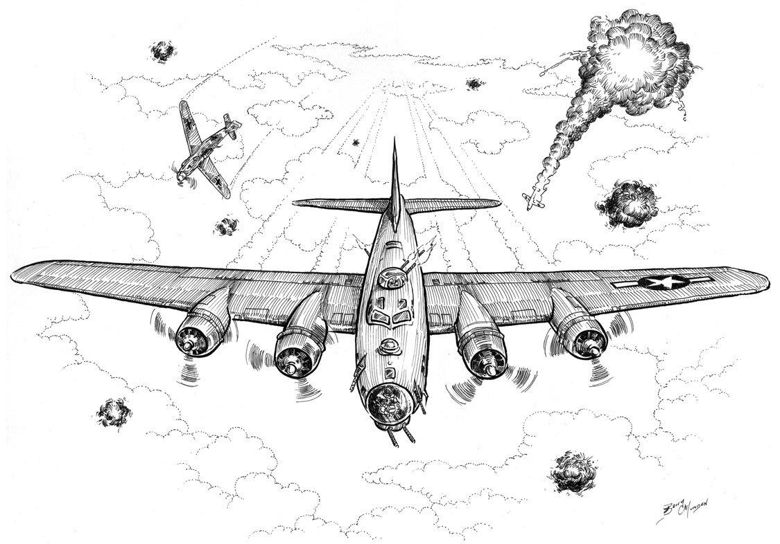 Картинки самолеты военные для срисовки