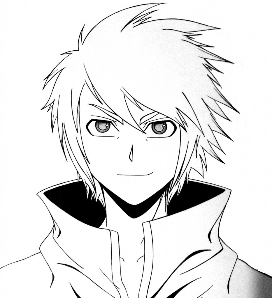 anime male face - HD933×1024