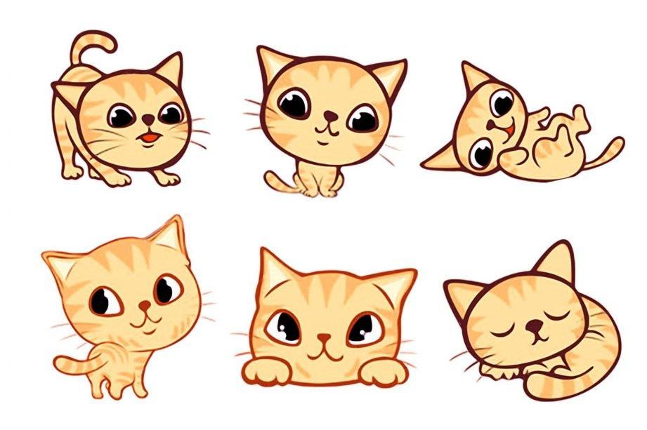 Картинки про котят смешные красивые и милые для срисовки, тему мои права