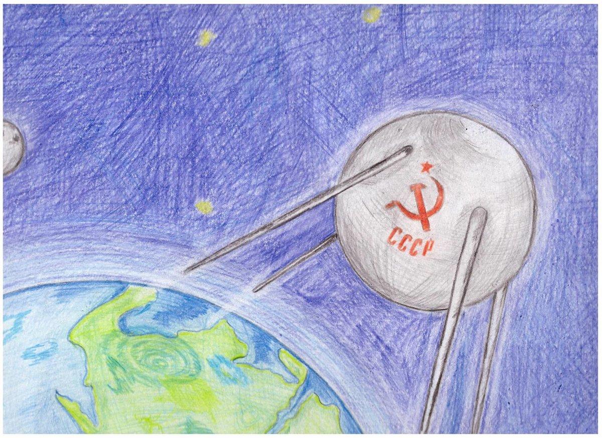 беседке может нарисовать рисунок про космос поэтапно простая