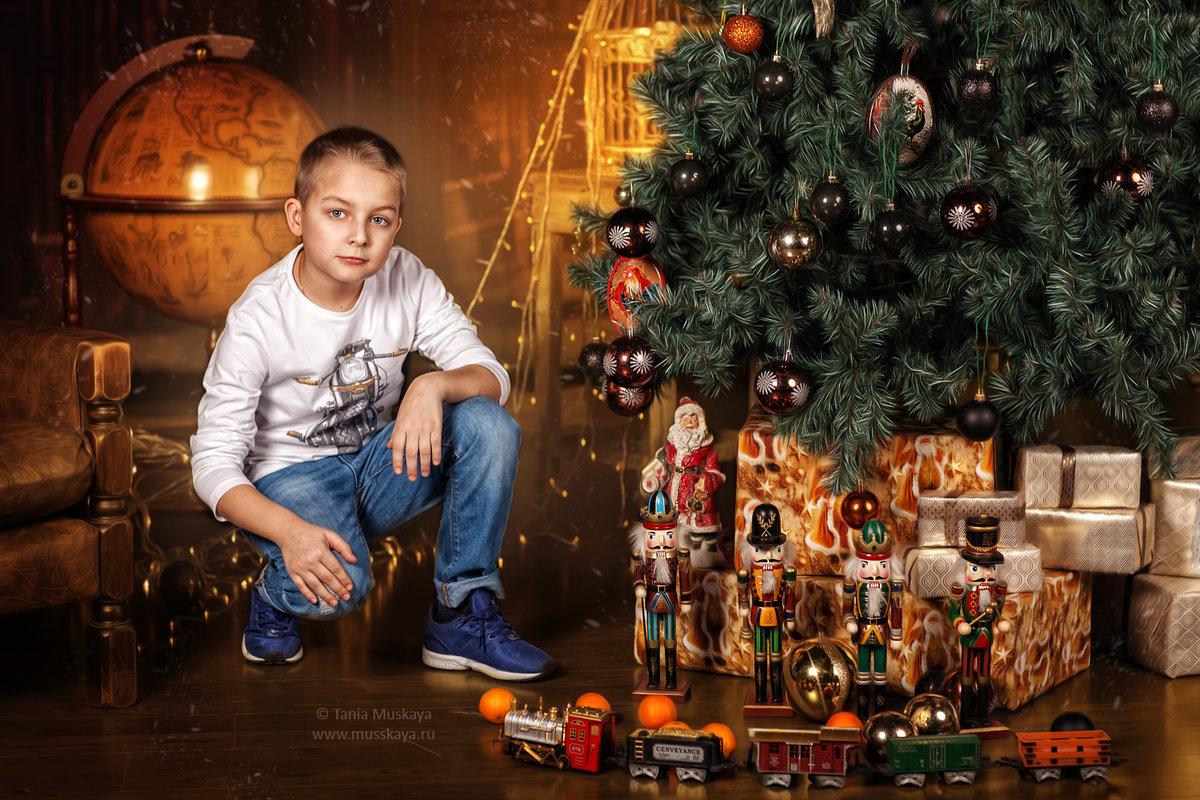 Новогодние фотосессии с детьми санкт петербург