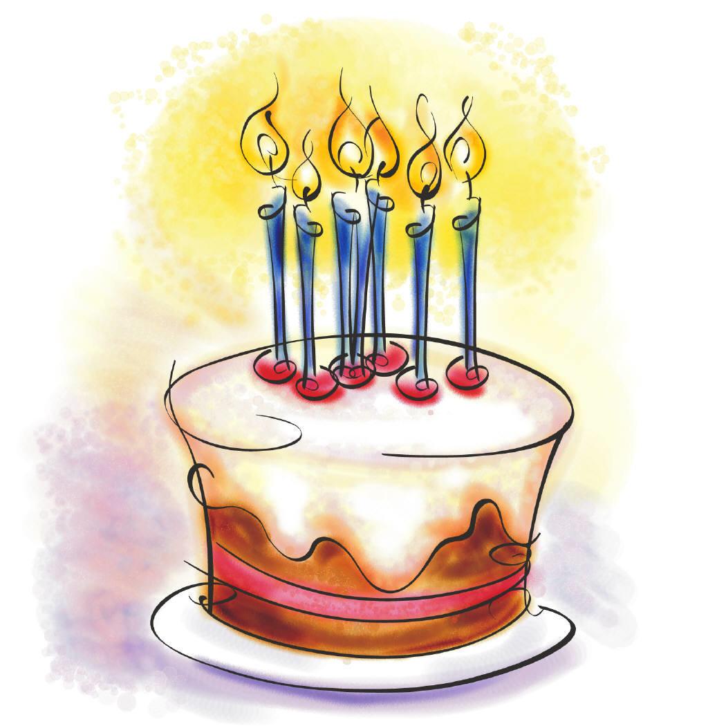 День рождения картинки рисунки