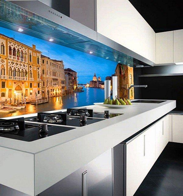 Фотообои на фартук для кухни