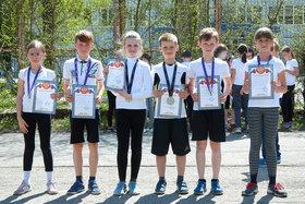 Соревнования по бегу в 3-х классах. Внеурочная деятельность