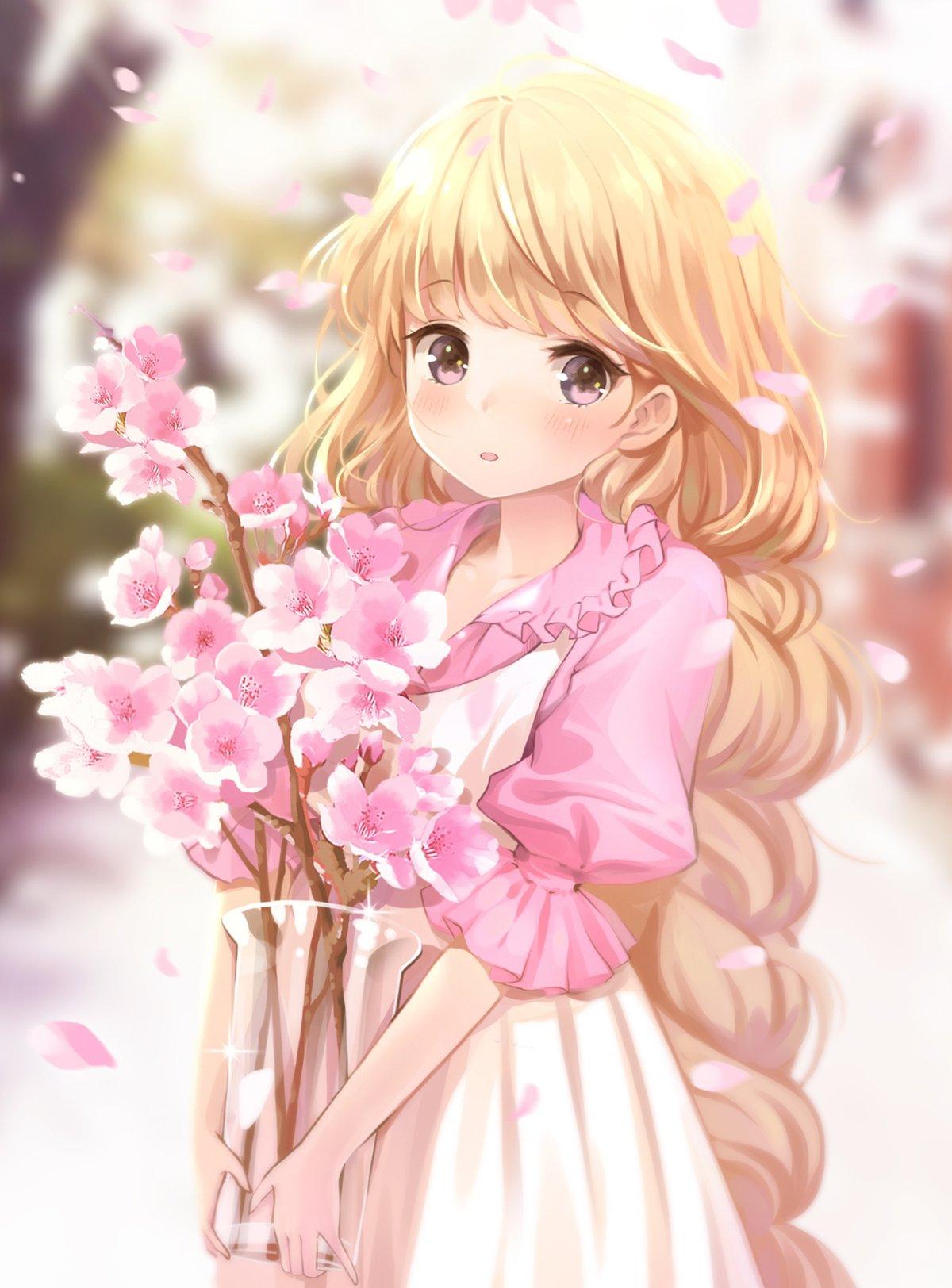 Весной красивые, аниме картинки красивые милые