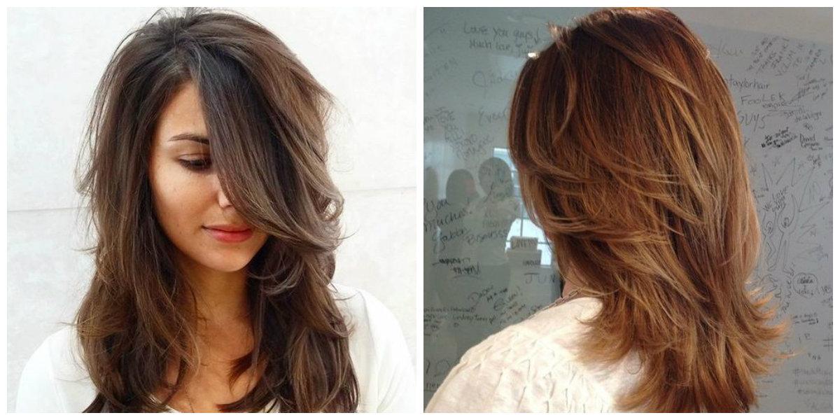 Peinados con corte de pelo en capas