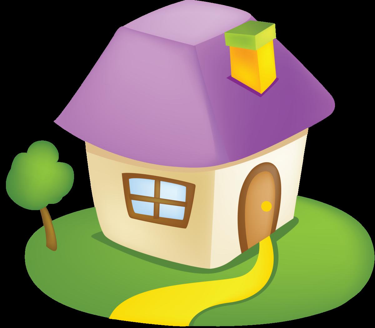 Картинка домики для детей на прозрачном фоне