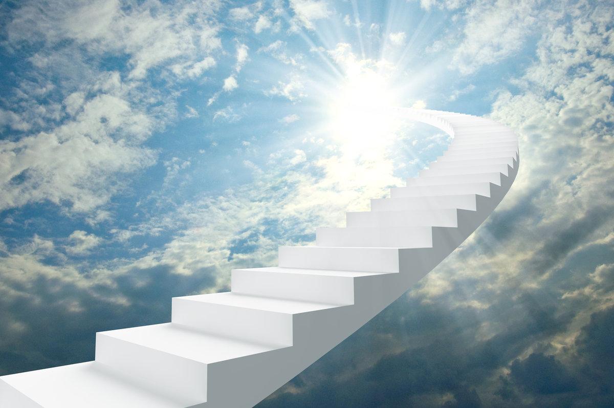 лестница в небо картинка для рабочего стола зависимости внешнего вида