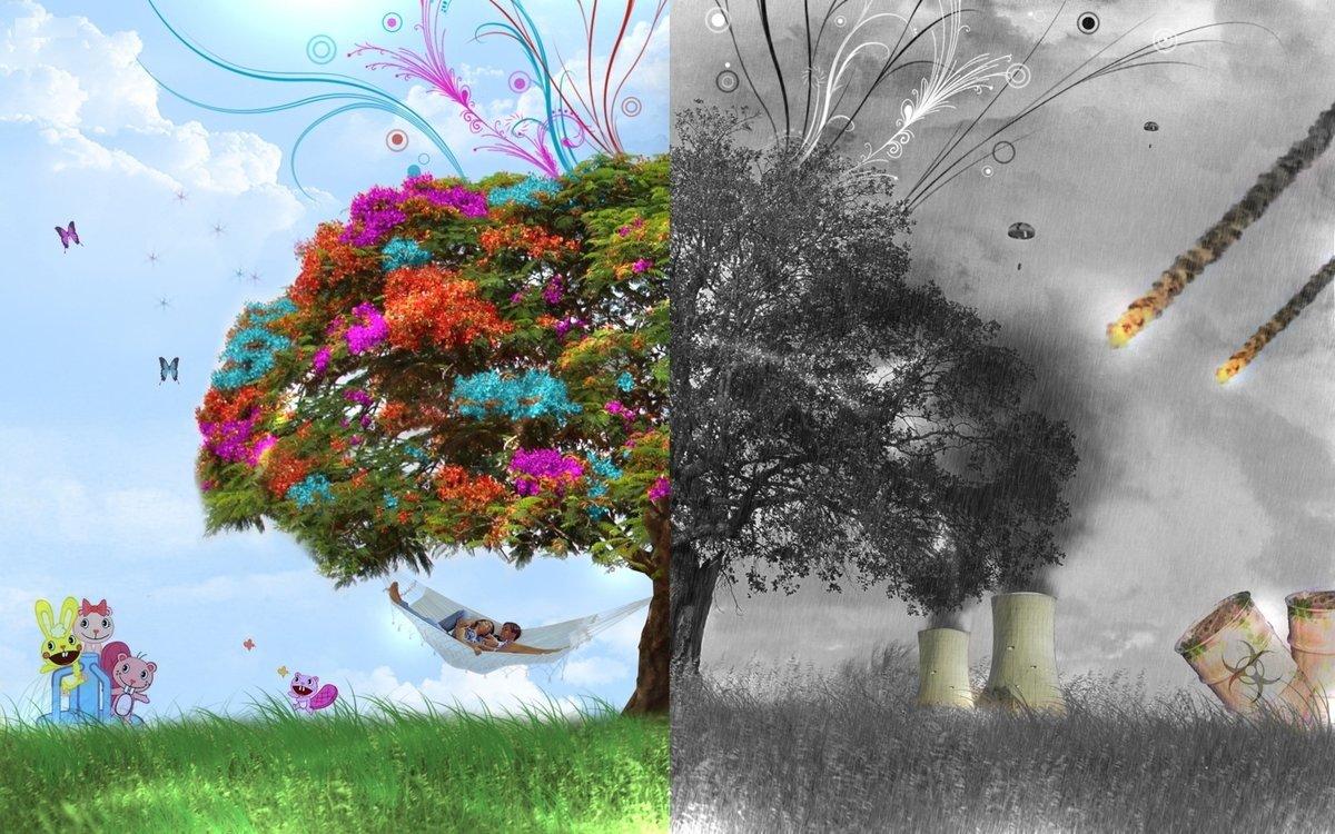 Экология красивые картинки, анимацией пузырьков открытки