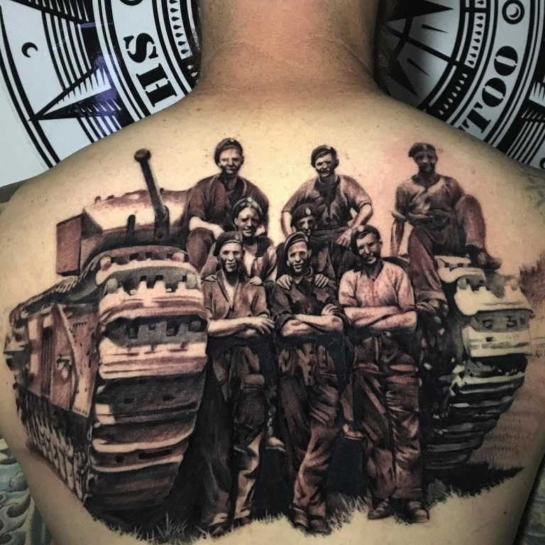 время фото танкистов тату таких