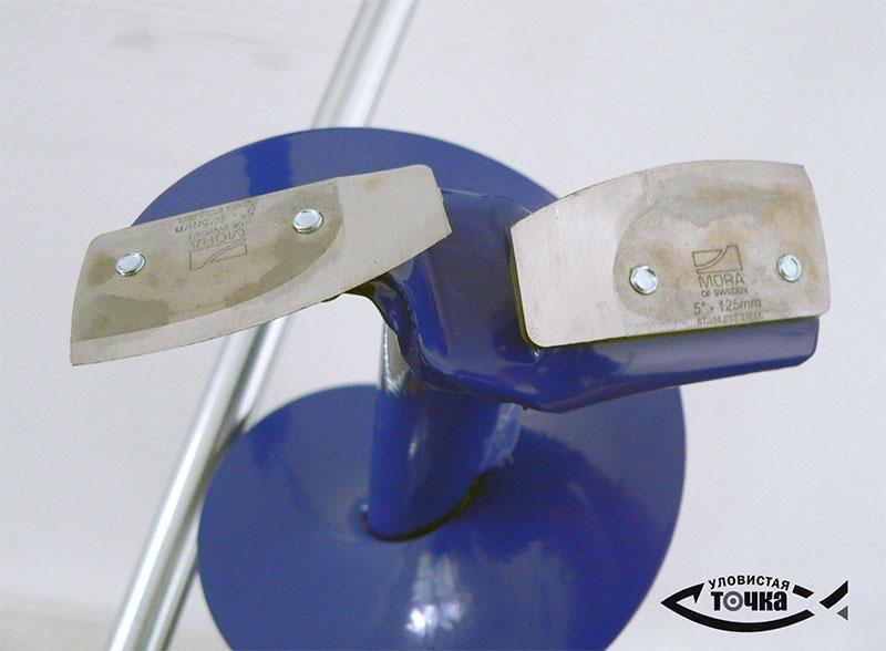Приспособление для заточки ножей ледобура