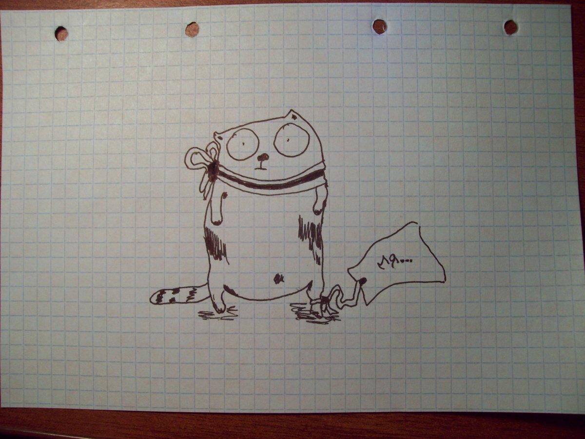 Прикольные картинки для срисовки в тетрадь