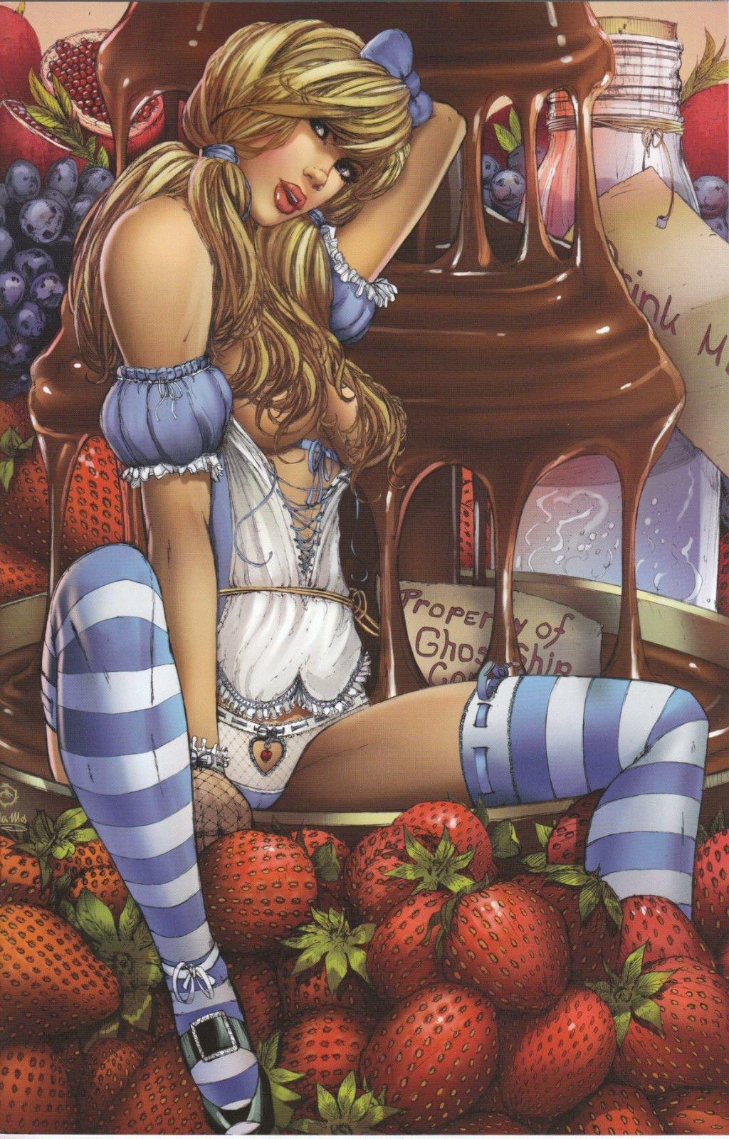 Алиса в странепорночудес потно