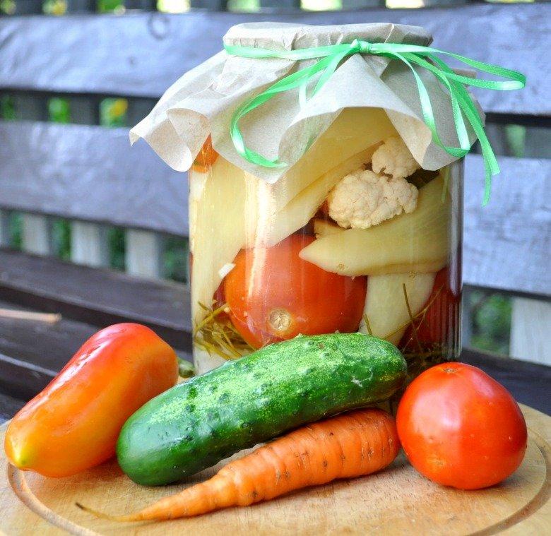 соление ассорти из овощей с фото объятия для публикации