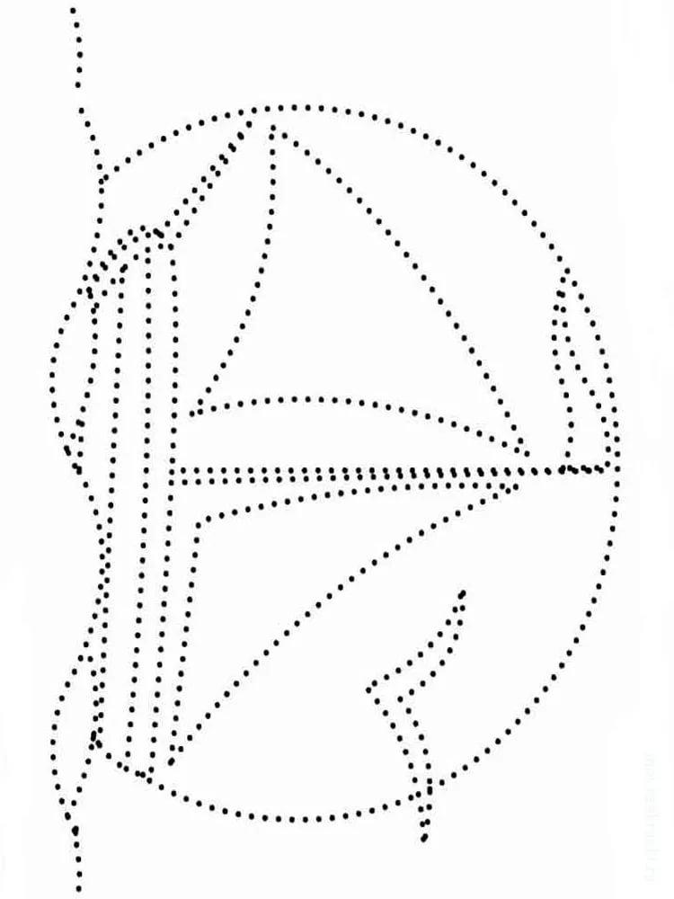 Картинка точечный рисунок