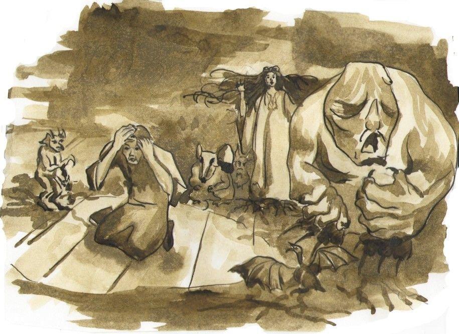 хиджаб картинки к сказке вий каких грибковых недугов