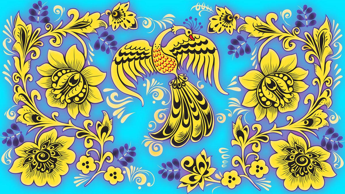 Картинки, картинки русские узоры цветные