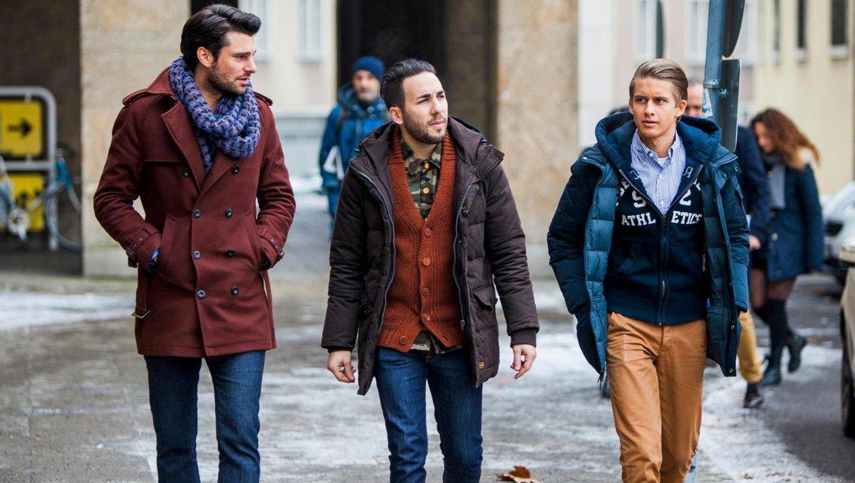 можете сами как одеваться зимой стильно фото мужчинам брик