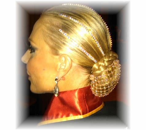 Collection Of Gallery For Ballroom Dance Competition Hairstyles