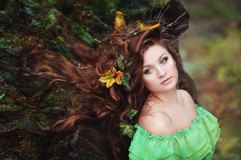 образ лесной нимфы для фотосессии слова, подготовить