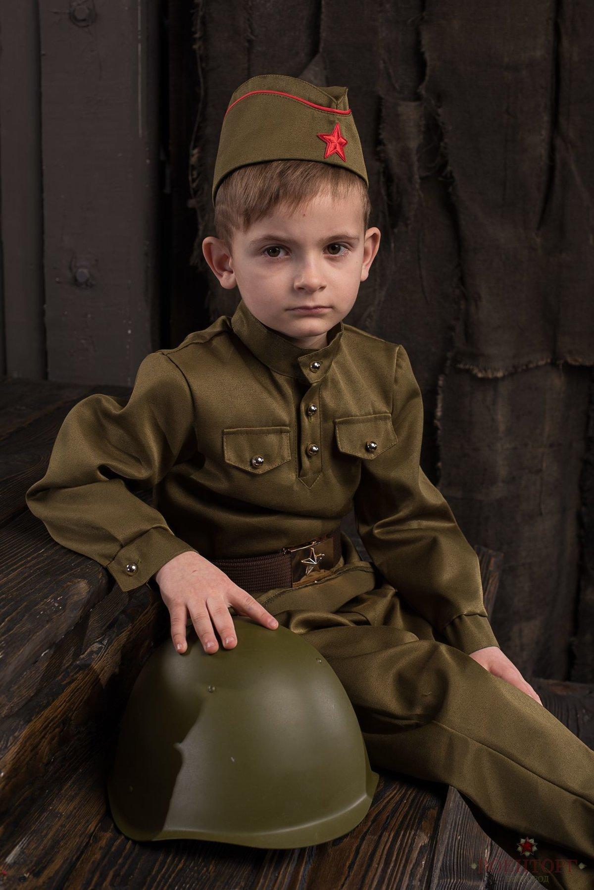 Фото военных детские