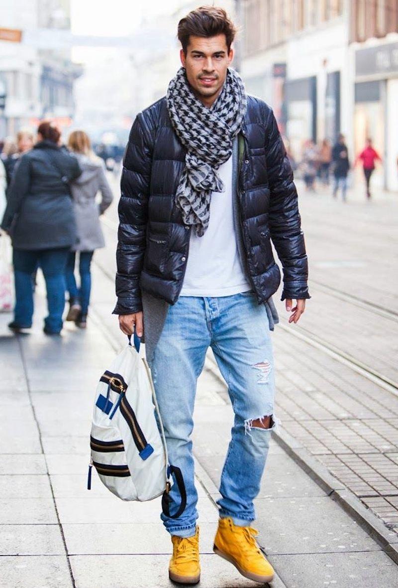этот фото как модно одеться зимой мужчине верить публикациям