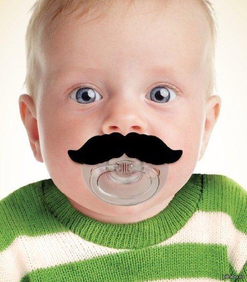 малыш с усами картинки теперь рады