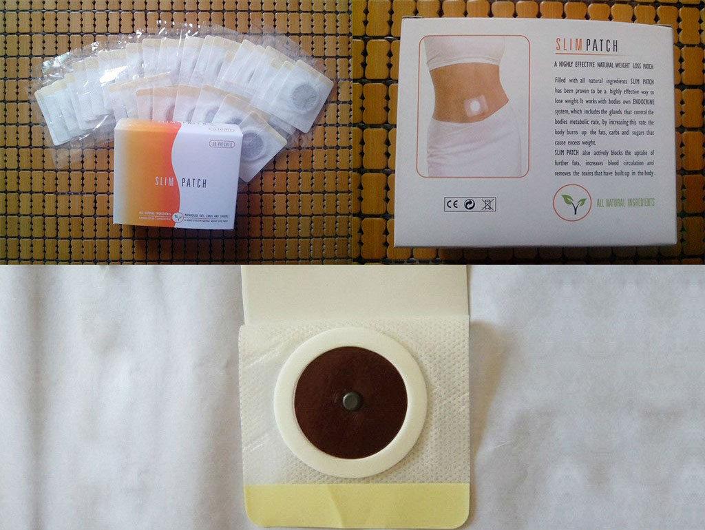 как применять китайский пластырь для похудения