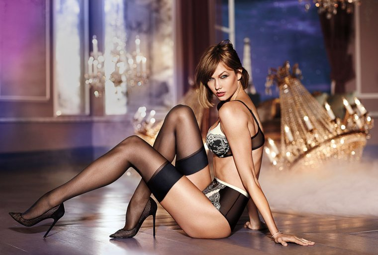 Sexy Fashion Woman Posing In Fashionable Lingerie Stock Porndish 1