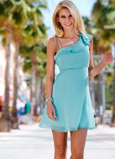 613b7d3c8c0d Нежно-голубое платье из креп-костюмной ткани для беременной ...