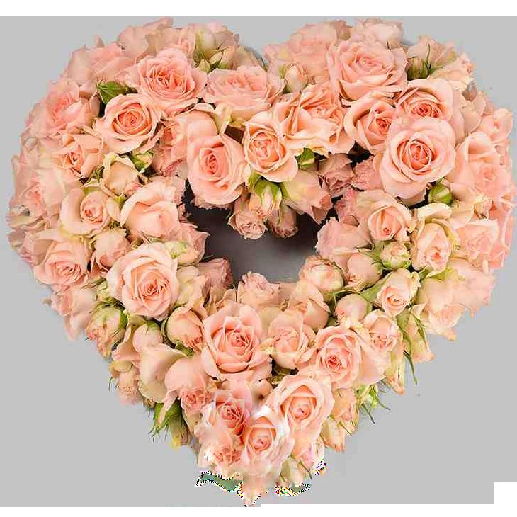картинка сердце в виде цветка например, харпер