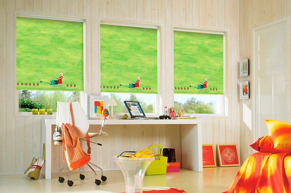 Картинка комнаты с окном для детей