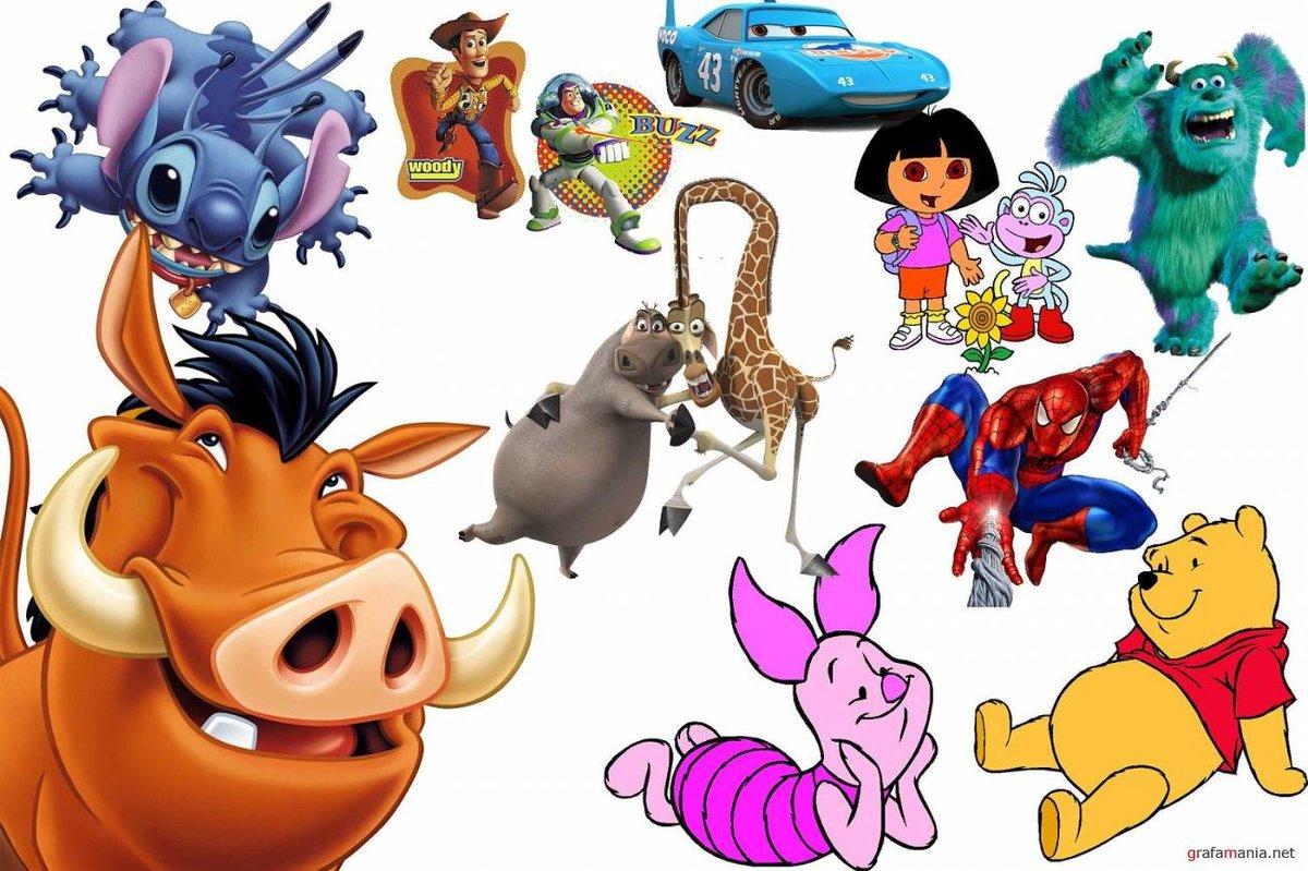 Популярные детские герои