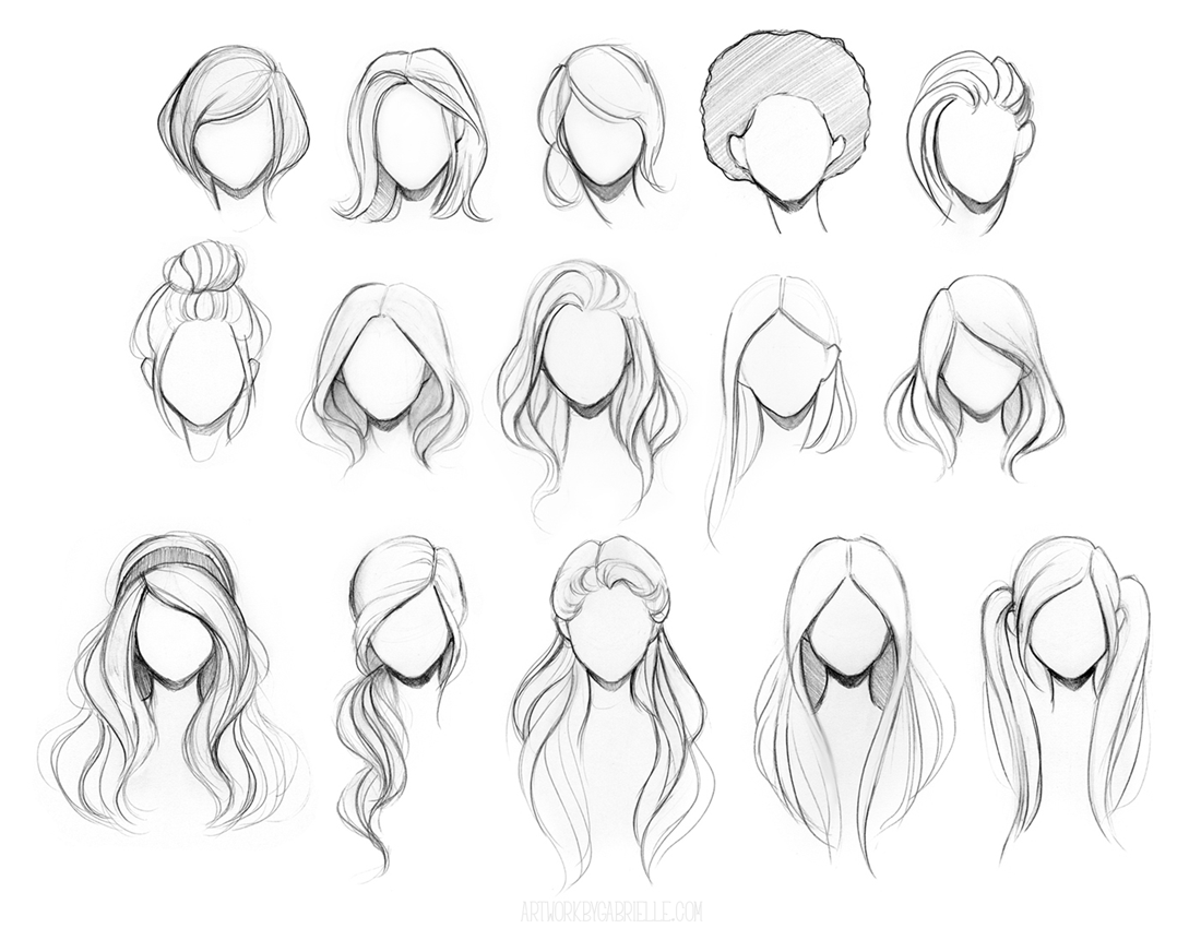 Cute Anime Girl Hairstyles Hairstyle Of Nowdays Card From User