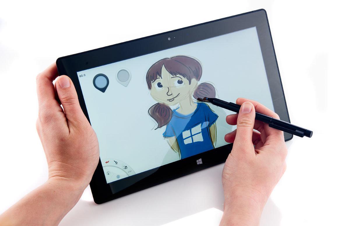 Как сделать открытку на планшете, своими руками малышу