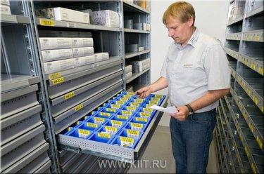 системы хранения на складе