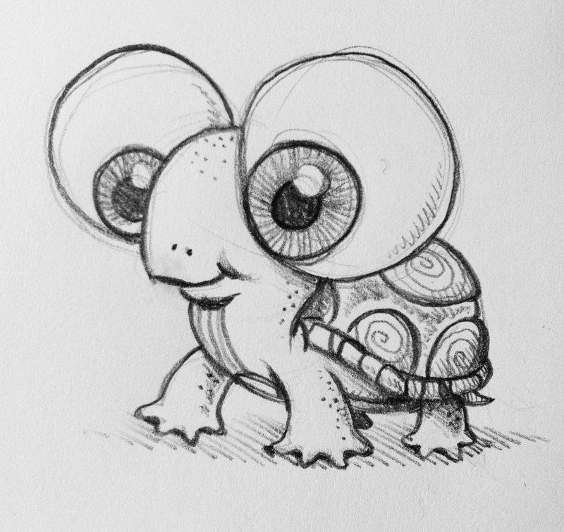 Картинки милых животных для срисовки, оригами марта