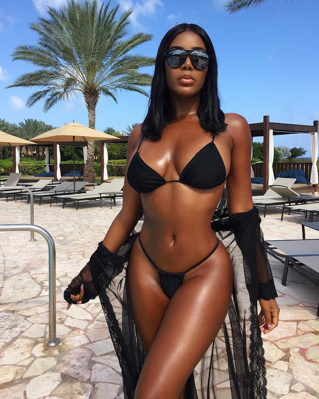 Black Girl Bikini Pics