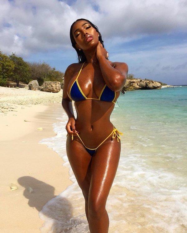 Black college beach ebony model girls