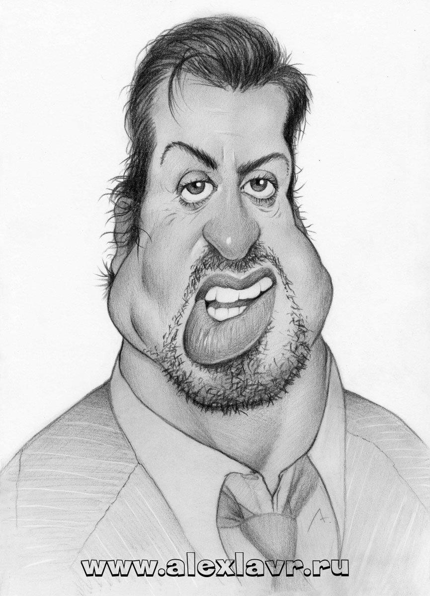 Рисунок карандашом смешное лицо, ответа