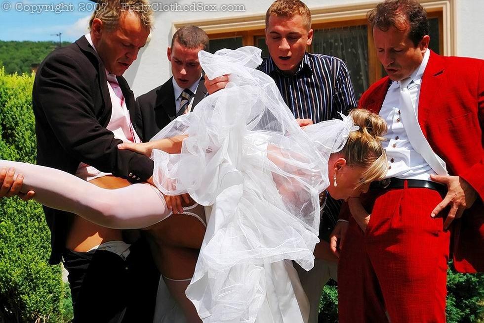смотреть невесту перед свадьбой жестко сделать его