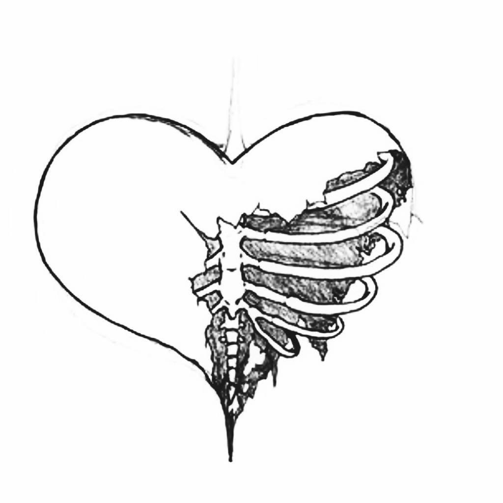Надписью мама, картинки разбитого сердца для срисовки