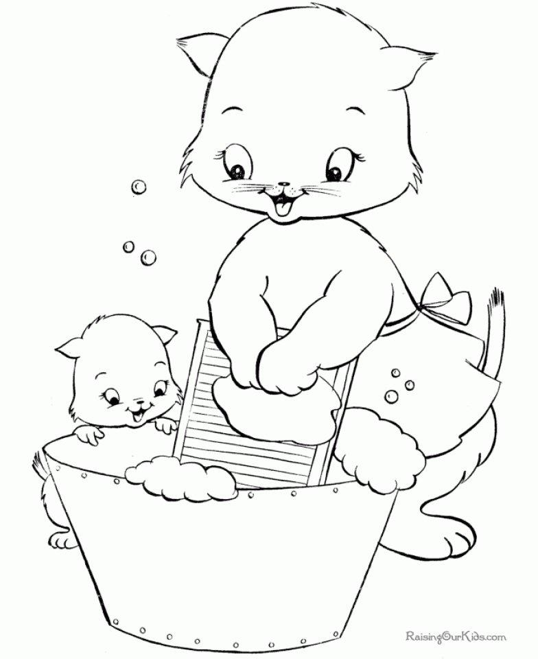 «Котята Раскраски для девочек онлайн» — карточка ...